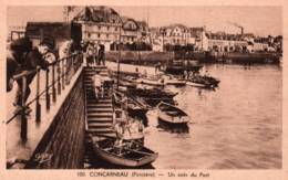 CPA - CONCARNEAU - COIN DU PORT - Edition Artaud Gaby - Concarneau