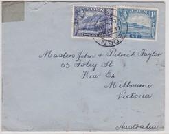 LSC - De ADEN Pour  MELBOURN  AUSTRALIE  1945 - Aden (1854-1963)