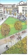 88 - Epinal - Place De La Chipotte - Carte De Voeux 2009  (carte Double) - Epinal