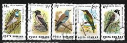 ROMANIA 1983 BIRD SELECTION USED - Usado