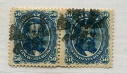 BRAZIL DOM PEDRO Cork Of 8  Parts MUTE CANCEL Brasil Pair Stamps # 39032 071019A - Brazil