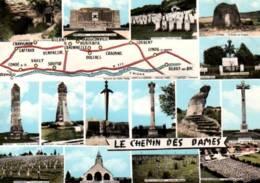 CPSM - LE CHEMIN DES DAMES - CARTE GEO ... - Edition Combier - Autres Communes