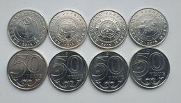Kazakhstan, 2015, 50 Tenge, Astana, Almata, Chimkent,Chimkent, 4 Coins X 50 T - Kazakistan