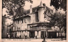 CPA - FIGEAC - MAISON De GIRONDE - PLACE CAVIALLE ... - Edition Des Docks - Figeac