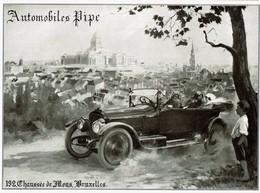 Publicité De Presse - C1915 - Automobiles PIPE - 192 Chaussée De Mons Bruxelles - 3 Scans - Publicités