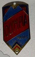 Plaque De Velo Olympia - Altre Collezioni