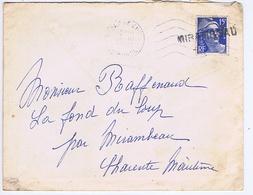 CHARENTE-MARITIME - Cachet Linéaire MIRAMBEAU - Cachets Manuels
