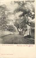 Pays Div-ref W619- Sainte Helene - Ste Helene - Straat In Jamestown - Souvenir Van St Helena  - - Saint Helena Island
