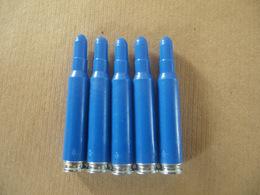 5 Cartouches à Blanc Bleues Cal 5,56 Mm - Equipaggiamento