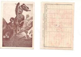 M9122 TORINO 1928 EMANUELE FILIBERTO CARTOLINA STAMPATA X LEZIONI SCUOLA - Manifestazioni
