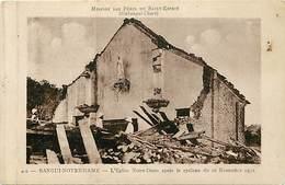 Pays Div-ref W617- Republique Centrafricaine -oubangui Chari - Bangui Notre Dame -eglise Apres Le Cyclone -- - Centraal-Afrikaanse Republiek
