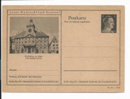 DR P 307 42-36-B21 ** - 6 Pf Hitller Bild Weißenburg Im Elsass - Deutschland