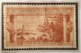 30115 XII Congresso Filatetico Italiano - Livorno - Livorno