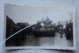 Photo TANK CRUISER MkVIII Cromwell Leyland A27M Belgium Liberation 1944 Militaria Tank Char - Krieg, Militär