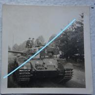 Photo TANK CRUISER Medium CENTURION 2 Manoeuvre Germany Circa 1946 Militaria Tank Char - Krieg, Militär