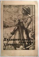 30121 Campagna Italo - Etiopica 1935 -1936 - Secondo Raggruppamento Lavoratori - Altre Guerre