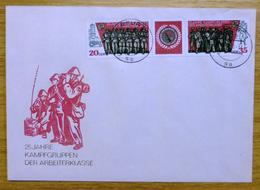 1978 Germany-DDR Stamp First Day Cover-Soldiers No D-749 - Germany