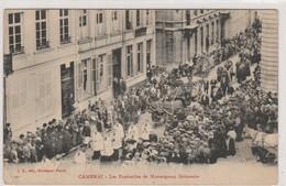 Cambrai , Les Funérailles De Monseigneur  Delamaire - Cambrai