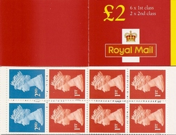 GREAT BRITAIN, FOLDED BOOKLET, 2000, FW 12 - Carnets