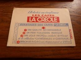 BC42-0 Buvard 15x10 Les Cafés La Créole Marcinelle - Alimentaire