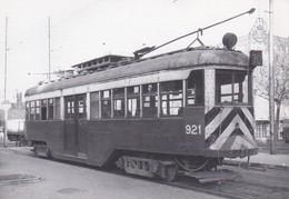 Nº 1 POSTAL DE TRANVIA DE BARCELONA SERIE 900-950 (TREN-TRAIN-ZUG) AMICS DEL FERROCARRIL - Tranvía