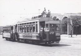 Nº 3 POSTAL DE TRANVIA DE BARCELONA SERIE 836-857 (TREN-TRAIN-ZUG) AMICS DEL FERROCARRIL - Tranvía