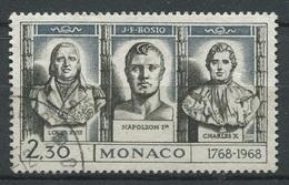 Monaco 1968 - N° 768 -  J.F. Bosio - Oblitéré - * - Oblitérés