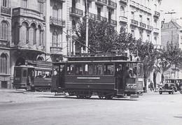 Nº 15 POSTAL DE TRANVIA DE BARCELONA SERIE 301-365 (TREN-TRAIN-ZUG) AMICS DEL FERROCARRIL - Tranvía