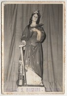 Santino Antico Vera Fotografia Santa Barbara Da Rogliano - Cosenza - Religion & Esotérisme