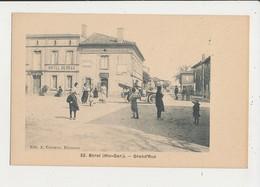 31 BERAT GRAND RUE CPA BON ETAT - Francia