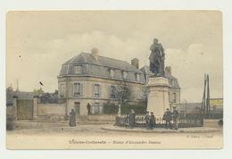 Villers Cotterets - Carte Couleur Animée - Statue Alexandre Dumas - Villers Cotterets