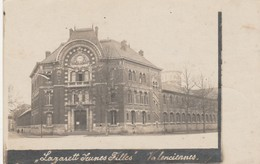 Valenciennes , Lazarett Jeunes Filles ,Hopital ; Feldpost  3-7-1918 ; Carte Photo - Valenciennes