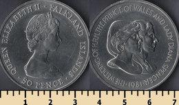 Falkland Islands 50 Pence 1981 - Falkland Islands