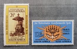 South Africa / RSA 1965; Religion, Dutch Church; MNH** Neuf; Postfrisch; - Unused Stamps
