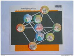 België Belgique 2007 Wetenschappen Siences Atomium BL 147 3701-3709 Yv 3682-3690 MNH ** - Blokken 1962-....