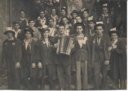 Saint Geniez - D 'Olt Les Conscrits Classe 1948 ( CARTE PHOTO ) - Autres Communes