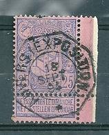 70 Gestempeld (telegraafstempel) ANVERS EXPOSITION - 1894-1896 Expositions