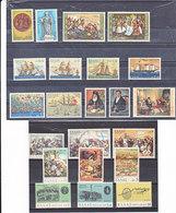 GRECE 1971 Guerre D'indépendance I-V Yvert 1040-1049 + 1054-1065 NEUF** MNH - Grèce