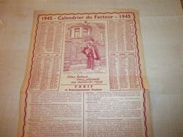 Ancien Calendrier Du Facteur 1945 - Kalender
