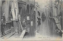 PARIS - Rue De Bièvre Le 30 Janvier 1910 - Inondations De 1910
