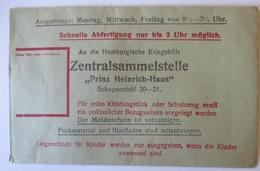 Kriegshilfe Hamburg 1. Weltkrieg, Original Spenden-Tütchen  (9720) - War 1914-18