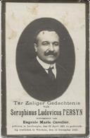 DP. SERAPHINUS PERSYN ° ISENBERGHE 1881- + VINCHEM 1923 - Religion & Esotérisme
