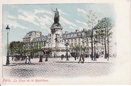277872Paris, La Place De La République,  édit. Hermann Ludewig - Markten, Pleinen