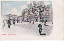 277873Paris, Hotel De Ville, édit. Hermann Ludewig (petite Déchirure Sup.) - Frankrijk