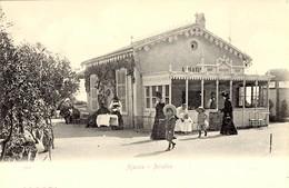 CORSE -- AJACCIO - Bar De L'ARIADNE (Salon De Thé Bar, Annexe Du Grand Hôtel Continental) - Années 1900 - Ajaccio
