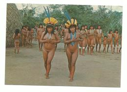 BRASIL NATIVO N°21 YAMARICUMA XINGU 1970 Detail Annonce Scan Recto/verso - Brasile