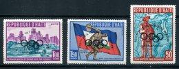 Haiti  SC# C148-50  Complete Set MNH - Haití