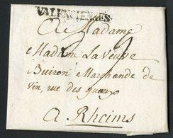 """1768 NORD Cote 160 € """"VALENCIENNES"""" En Noir (Lenain N°6a, Indice 15). Avec La Taxe Manuscrite """"5"""" - 1701-1800: Precursors XVIII"""