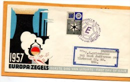 Netherlands 1957 FDC - FDC