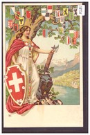 L'HELVETIE ET LES CANTONS SUISSES - TB - Svizzera